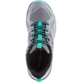 Merrell MQM Flex GTX - Chaussures Femme - gris/turquoise